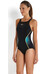 speedo Endurance+ Fit Pinnacle badpak Dames zwart